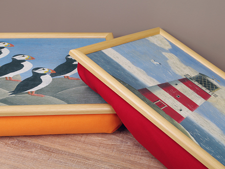 Lap Trays von Castle Melamine - Made in Scotland